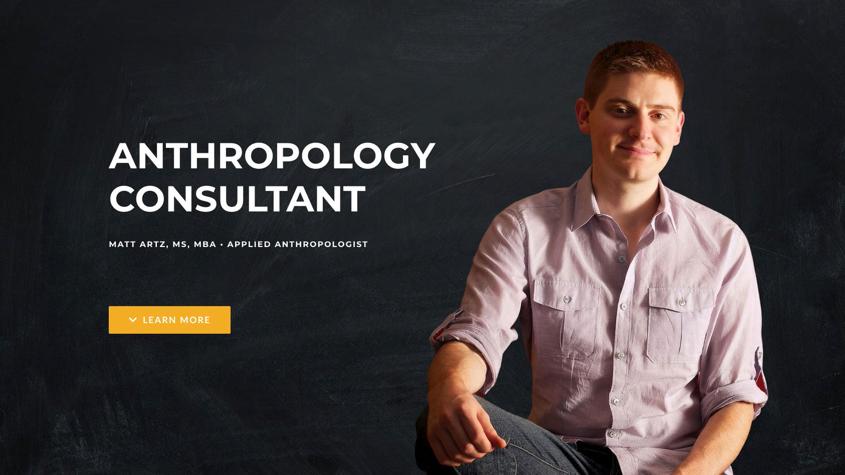 Anthropology Consultant Microsite