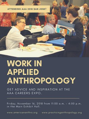 Anthropology Jobs AAA 2018 Event