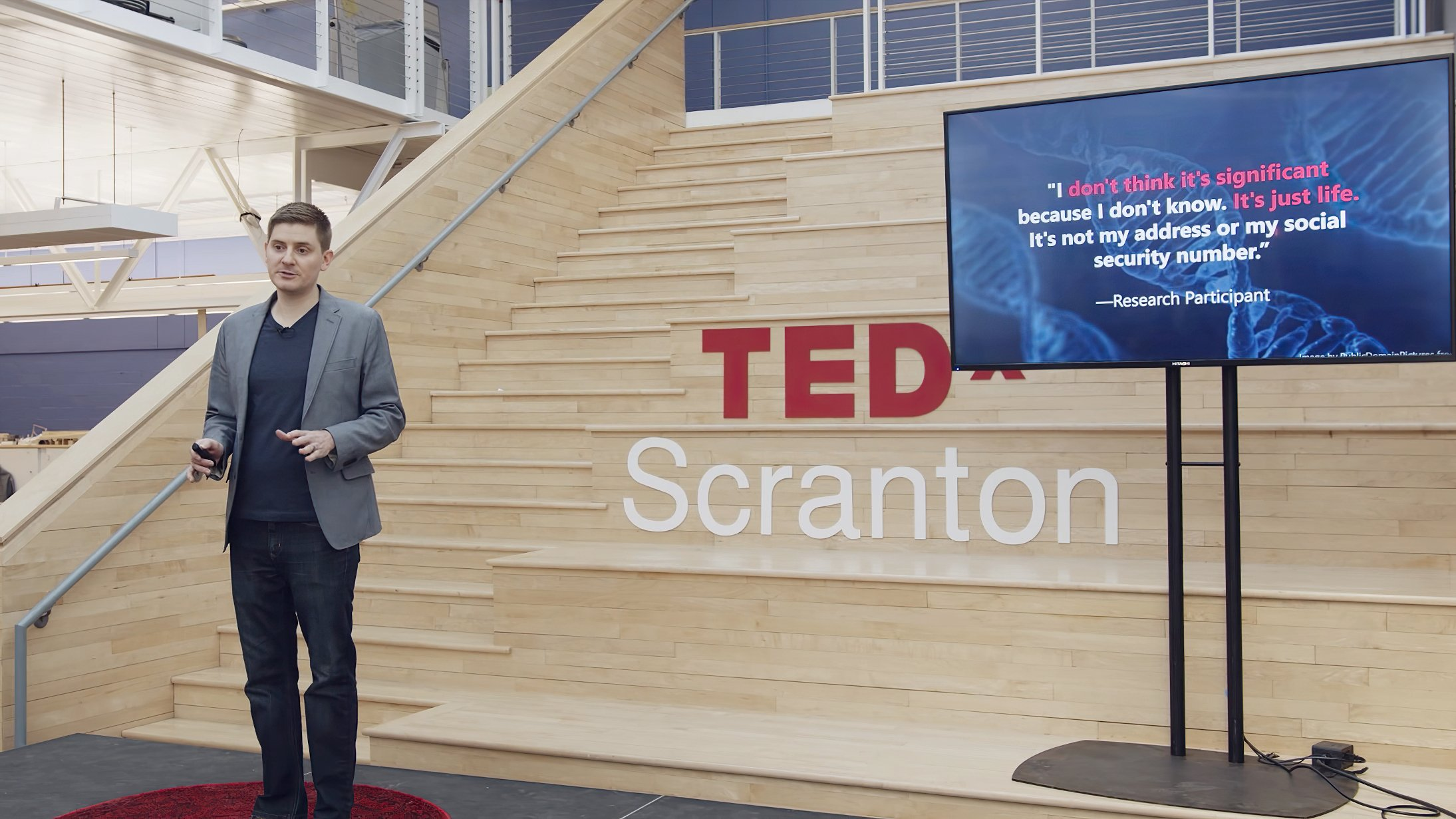 Matt Artz TEDx Talk: Are DNA Tests Safe?