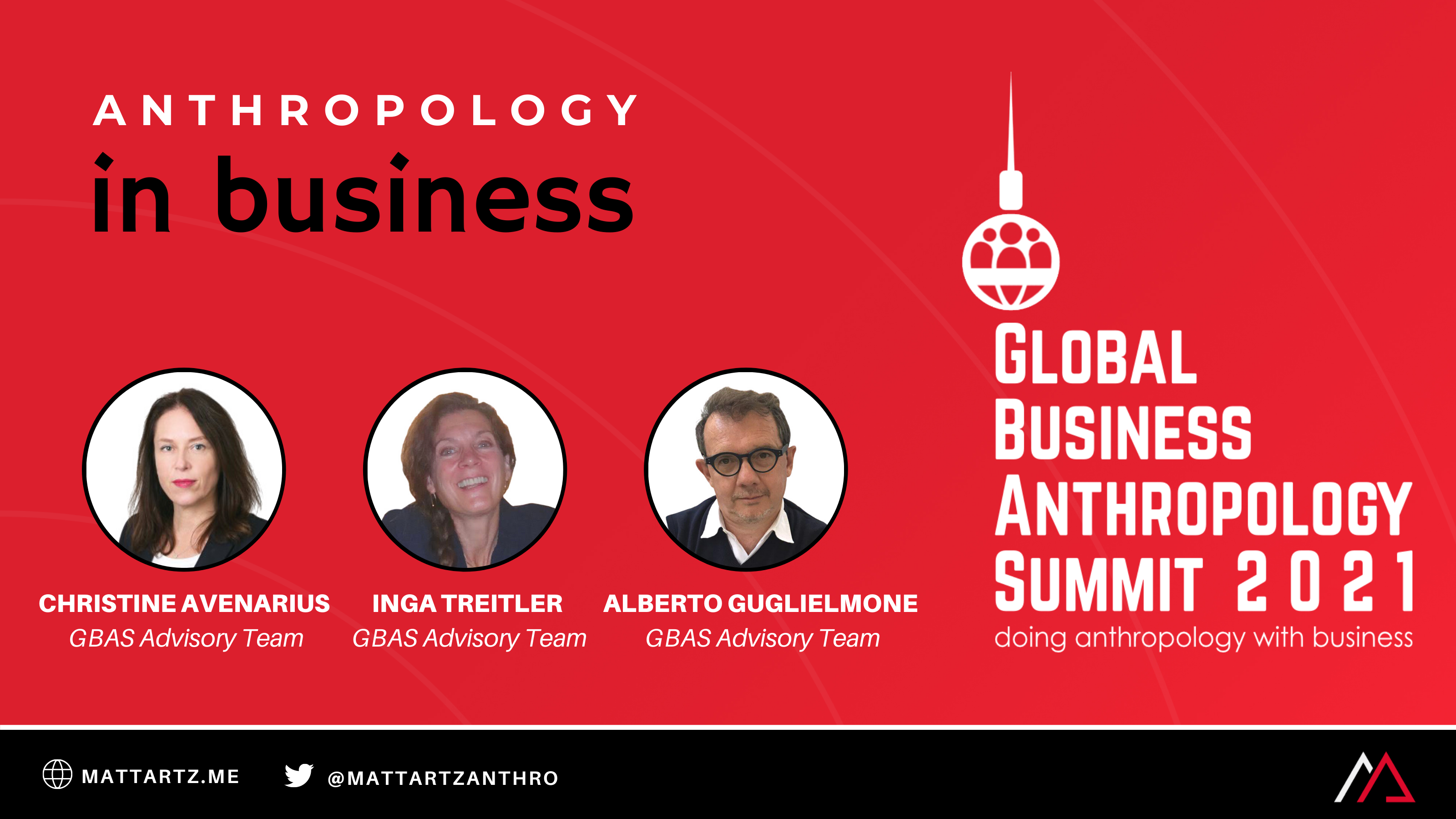 GBAS 2021 on Anthropology in Business with Matt Artz