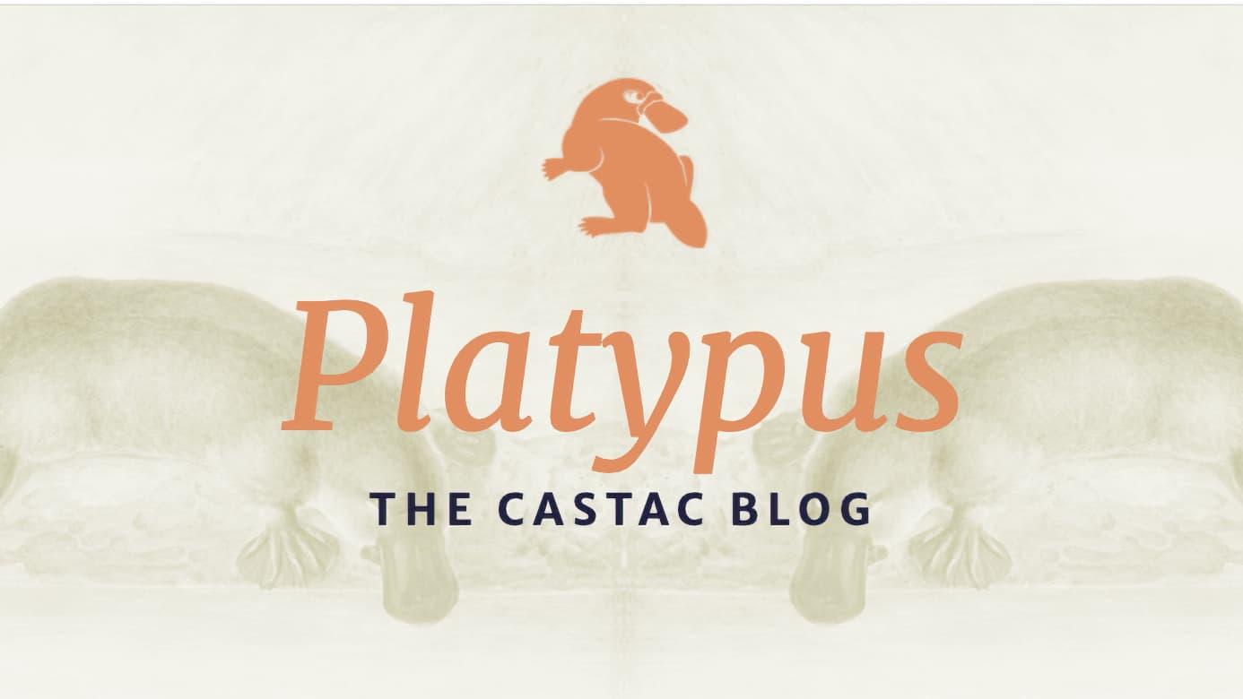 Platypus Blog